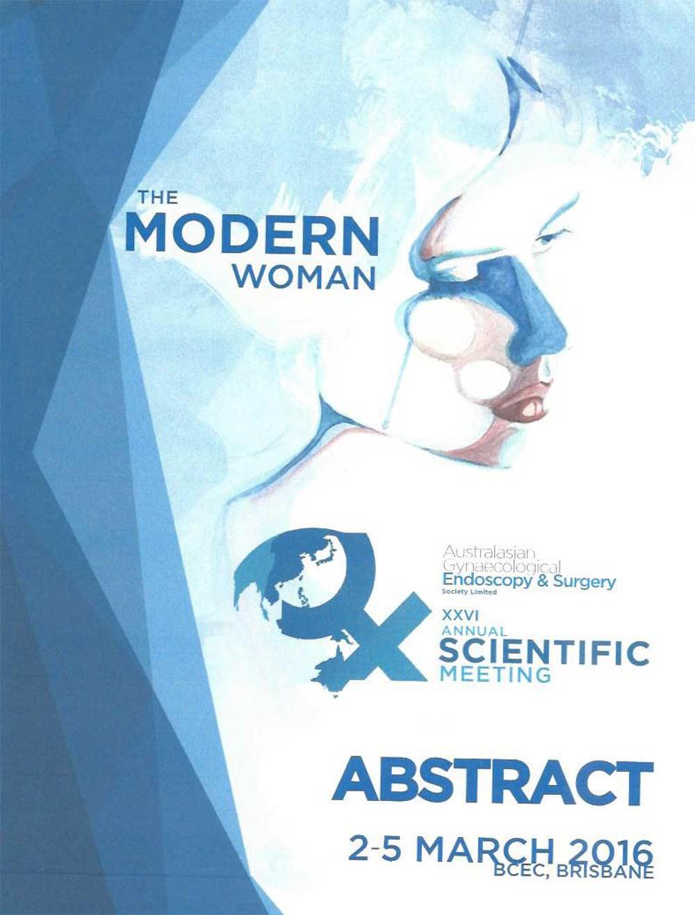 XXVI AGES Annual Scientific Meeting