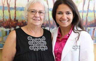 Dr. Merhi and Teloa Smith