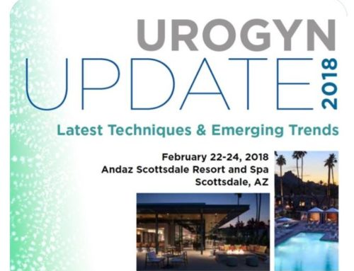 Urogyn Update 2018: Latest Techniques & Emerging Trends